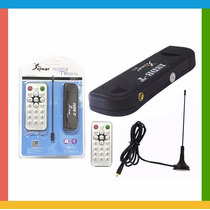 Receptor De Tv Digital Usb Pc / Notebook +controle+antena