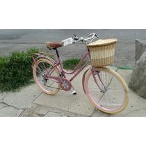 Bicicleta Retro Vintage 7 Vel Equipada