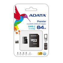Memoria Micro Sd 64gb Adata Clase 10 U1 Celular Tablet Gopro