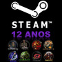 Steam 12anos 8 Jogos Originais Com Cs 1.6 + Moeda 5anos Csgo