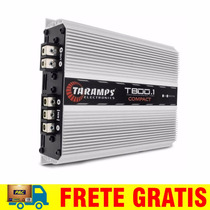 Modulo Taramps T800.1 Compact 1 Canal 800w Rms Mono Rca T800