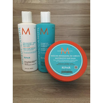 Moroccanoil - Kit Sh 250ml + Cond 250ml + Mascara 250ml