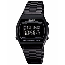 Reloj Casio B640w Negro Mate Pavonado Retro Vintage Unisex