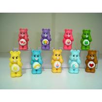 Ursinhos Carinhosos Kit 9 Bonecos Hasbro Em Pvc