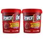 2x Pasta De Amendoim - Brigadeiro Proteico - Power One
