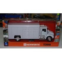 1:43 Kenworth T300 Refresquero Blanco New Ray Rabon