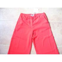 Pantalon Tipo Palazzo Rojo De Lolita Sin Uso