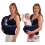 Canguru Sling Bag Carregador De Bebê Azul - Colorbaby