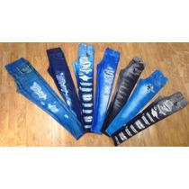 Kit 4 Calça Legging Jeans Atacado Lançamento Feminina
