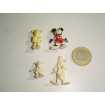 Vintage Figuras Marinela Twinky Mickey Mouse ( 4 )