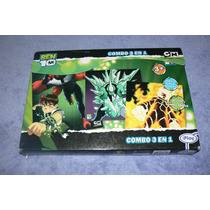 Rompecabezas Ben 10 (3 En 1) De Cartoon Network