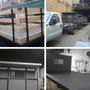 Fabrica De Plataforma Para Camión 350 Con Barandas