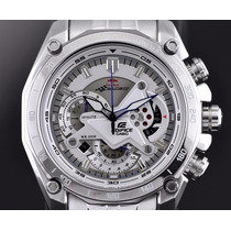 Reloj Casio Edifice Ef- 550rbsp-7av Red Bull White (blanco)