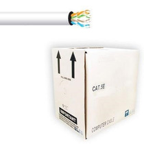 Cable Utp Blanco Categoria 5e/ Cca/ Bobina 305 Mts