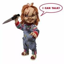 Boneco Chucky - C/ Som O Brinquedo Assassino 2 - Mezco 38 Cm