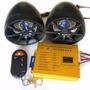 Potencia P/ Moto Parlantes Alarma Lector Usb Sd Control Rem.
