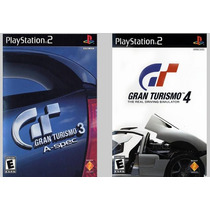Patch Gran Turismo 3 E 4 Para Ps2 Destravado