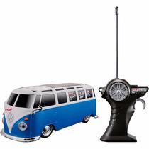Carro Volkswagen Van Samba Controle Remoto Maisto 1:24