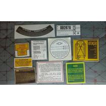 Calota C10 D10 Manual C14 D14 Adesivos Veraneio Peças Motor