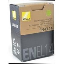 Bateria En El14 Original D31000 D3200 D5200 D5100