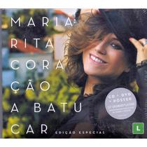 Cd+dvd Maria Rita - Coração A Batucar Edição Especial - Novo