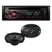 Combo Pioneer Audio Auto: Estereo 285bt + Parlantes 6975s