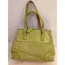 Bolsa Para Dama Marca Coach Color Verde
