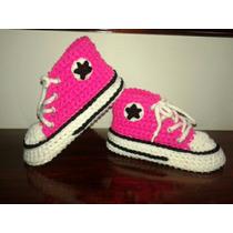 Pantuflas /botitas Tejidas En Crochet Para Chicos!!