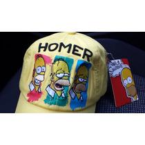 Gorra De Homero Los Simpsons