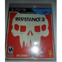 Ps3 Resistance 3 $280 Pesos - Seminuevo - Vendo O Cambio