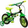 Bicicletas Infantil Aro12 Masculina Black 12 Original