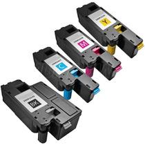 Kit Colorido 4 Toner Compatível Xerox 6000 6010 6015 Phaser