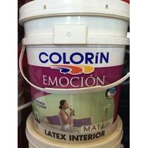 Latex Emocion Mate Colorin 20 Lts