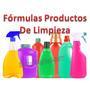 Aprende Elaborar Formulas Químicas Productos De Limpieza!pdf