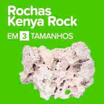 Rocha Kenya Aquário Marinho & Ciclídeos 20kg - Frete Grátis!