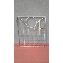 Puerta Reja Hierro Protección Para Escalera Terraza Patio