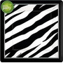 Animal Print (zebra) Manteleria Original Importada