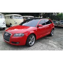 Audi A3 Sportback 2.0 Blindada Roda S3 18*troco Kombi Antiga
