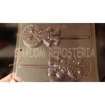 *molde Paletas De Chocolate Spiderman Caricatura Cuties Pop*