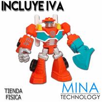Muñecos Mini Transformers Rescue Bots De Hasbro - A21260750