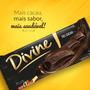 Chocolates Divine 70% Cacau Caixa Com 12 Barra 140g