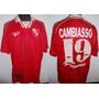 Camiseta De Independiente Topper 1997 - 98 #19 Cambiasso !!!