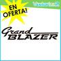 Calcomania Chevrolet Grand Blazer 4x4 Diseño Original Oferta
