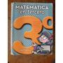 Matemática En Tercero 3 - Santillana