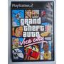 Grand Theft Auto Vice City Para Playstation 2 Ps2 Como Nuevo
