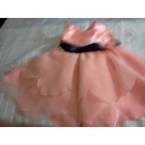 .vestido De Fiesta Para Niñas, D´ensueño, Bautismo, Cortejo