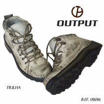 Coturno / Tênis Couro Output Boots Trilha
