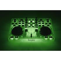 Mezcladora Mixer Dj Control Glow Hercules. Efecto De Brillo