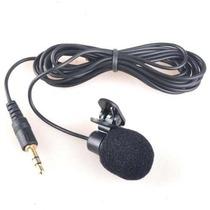 Microfone Lapela P2 (3,5mm) - Frete+barato