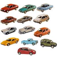 Miniaturas Carros Nacionais Palio, Doblo, Santana A Unidade